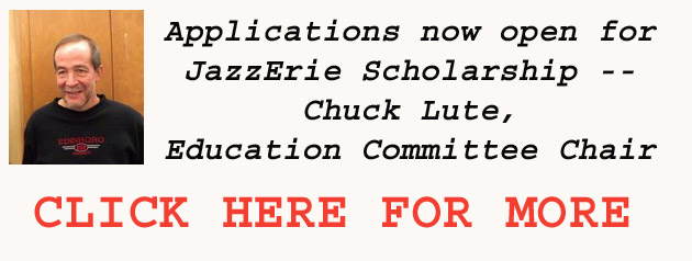 Applications Open For 2016 JazzErie Scholarships