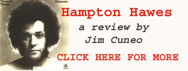 Hampton Hawes, a Review by Jim Cuneo