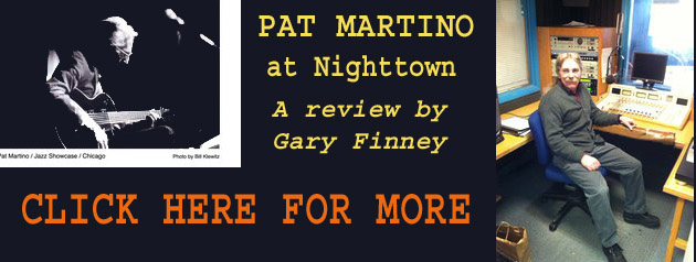 PAT MARTINO, a review by Gary Finney