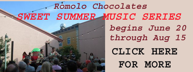 Romolo Cholocates Sweet Summer Music Series