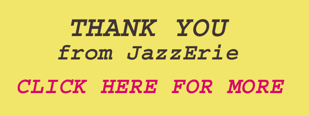 THANK YOU from JazzErie