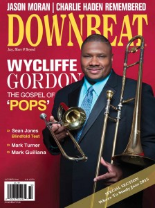 Downbeat cover with Wycliffe Gordon