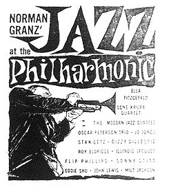Jazz at the Philharmonic poster