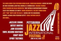 Pittsburgh JazzLive International Festival poster