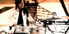 Sheila E on drums